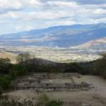 Monte Alban - Blick auf Oaxaca