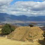 Monte Alban - Reste eines Tempels