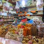 Auf dem Markt für Süßigkeiten