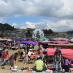 Chamula - Markt vor der Kirche
