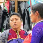 Zwei junge Tzotzil-Frauen