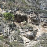 Steile Wände zu beiden Seiten