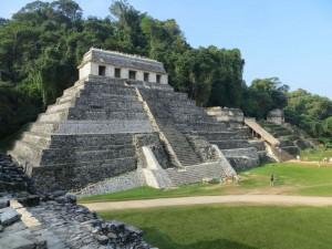 Palenque - Templo de las Inscriptiones
