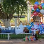 Der Luftballon-Verkäufer