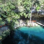 Cenote X'Canchè - Wassertiefe 30m