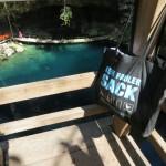 Cenote X'Canchè - Blick von ganz oben