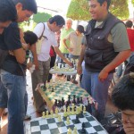 Schach auf der Plaza