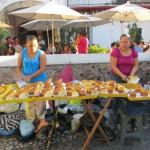 Vanille-Kuchen-Verkauf