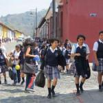 Antigua - Schulschluß
