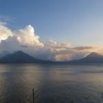 Der See und die Vulkane