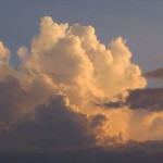 Grandiose Wolkenbildung