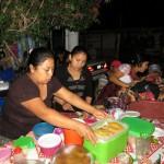 Panajachel - Verkauf von Empenadas und Tacos