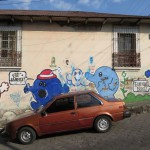 Werbung oder Graffiti