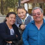Paty, David und Enkeltochter