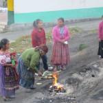 Zeremonie der K'iche'-Maya