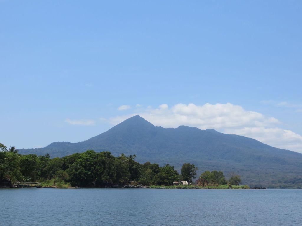 035-10 Granada - Blick auf den Vulkan Mombacho