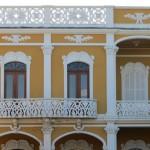 Granada.- Hausfassade