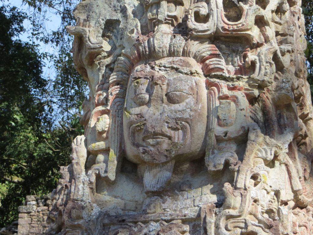 034-02 Maya-Skulptur