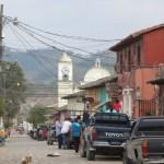 Gracias - eine der Hauptstraßen
