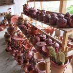 Traditionelle Töpferarbeiten