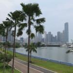 Blick auf das moderne Panama