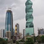 Extravagante Architektur