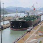 Panama-Kanal - Einfahrt in die Miraflores-Schleuse
