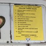 Schulbusregeln aus US-Zeiten