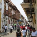 Cartagena - Schön sanierte Straßenzüge