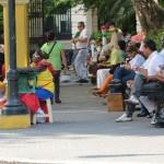Cartagena - Buntges Treiben auf der Plaza