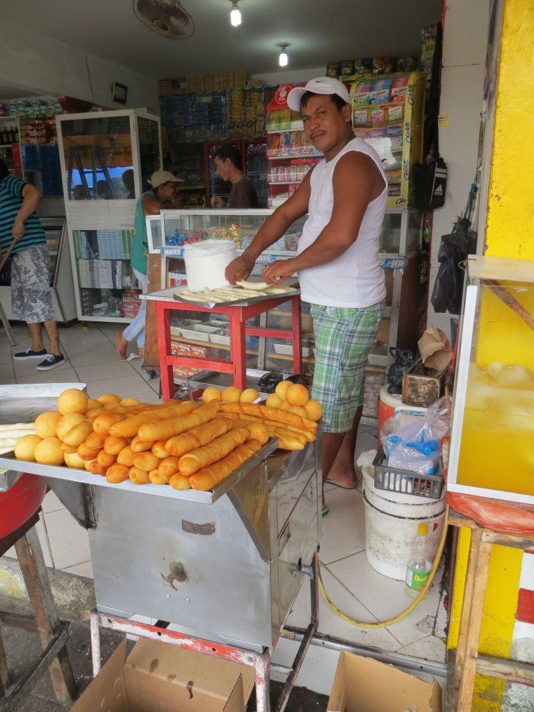 038-09 Cartagena - Schmalzkuchen zum Frühstück