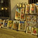 Cartagena - Kunstauktion auf der Straße