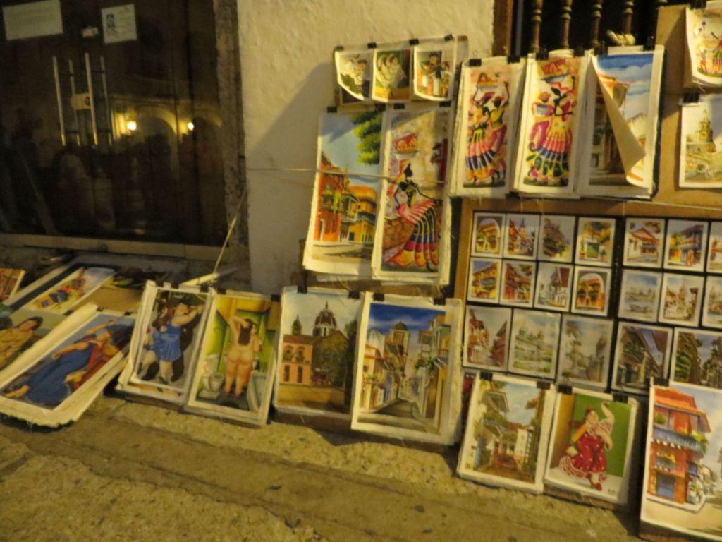 038-12 Cartagena - Kunstauktion auf der Straße