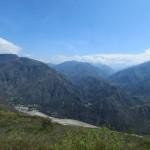 Traumhafte Bergwelt in der Nähe von San Gil