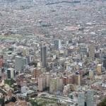 Bogota - Blick auf das Geschäftszentrum
