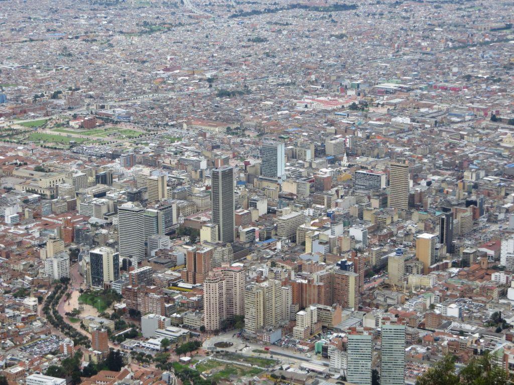 038-33 Bogota - Blick auf das Geschäftszentrum
