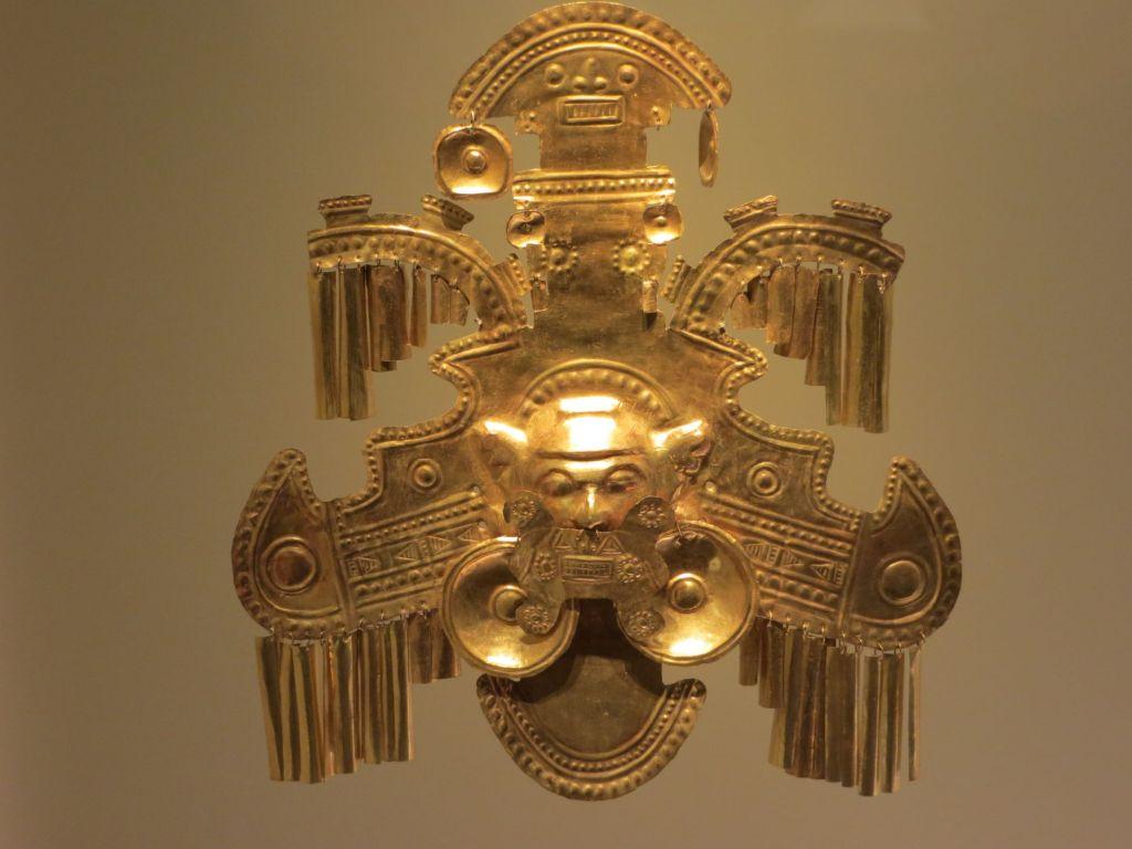 038-36 Bogota - Im Goldmuseum