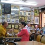 Medellin - Im Kaffeehaus