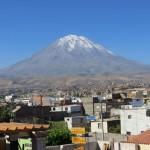 Arequipa und sein Hausvulkan