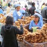 La Paz - Brot im Straßenverkauf