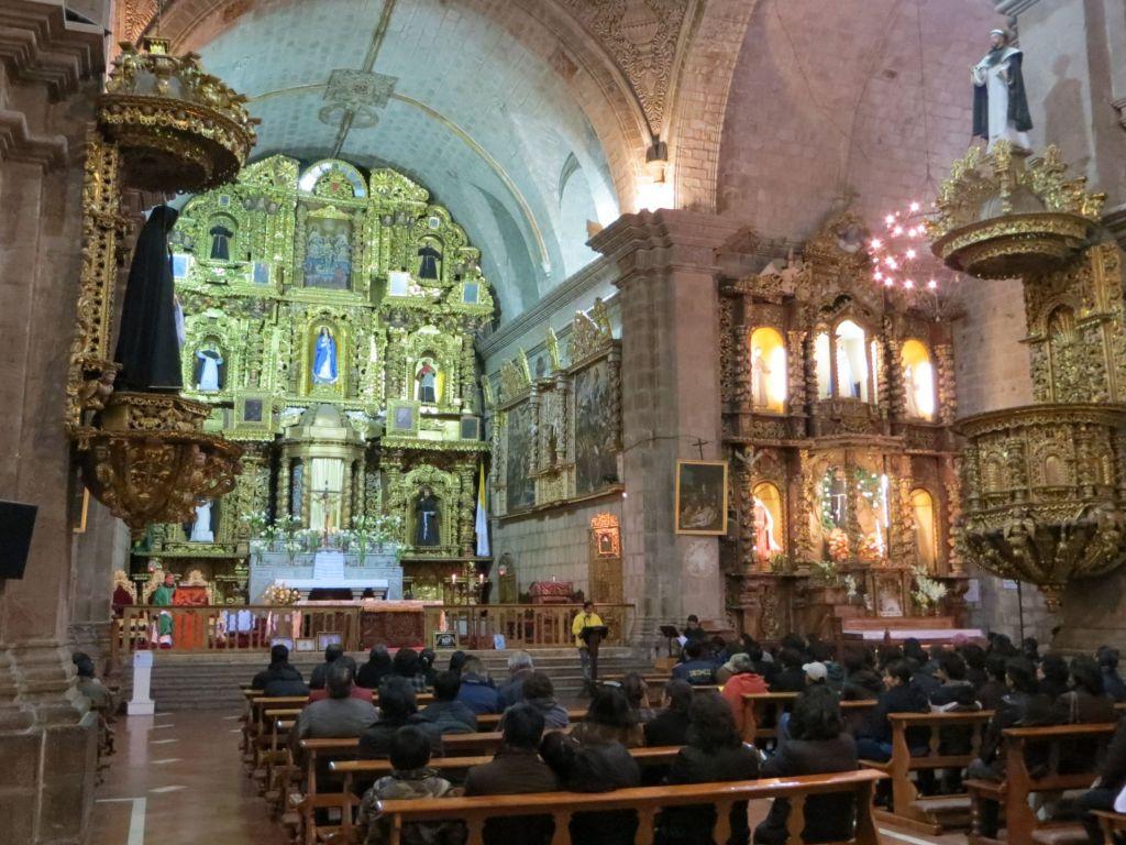 039-15 La Paz - Altar der Kirche San Franzisco