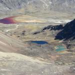 Chacaltaya und seine bunten Seen