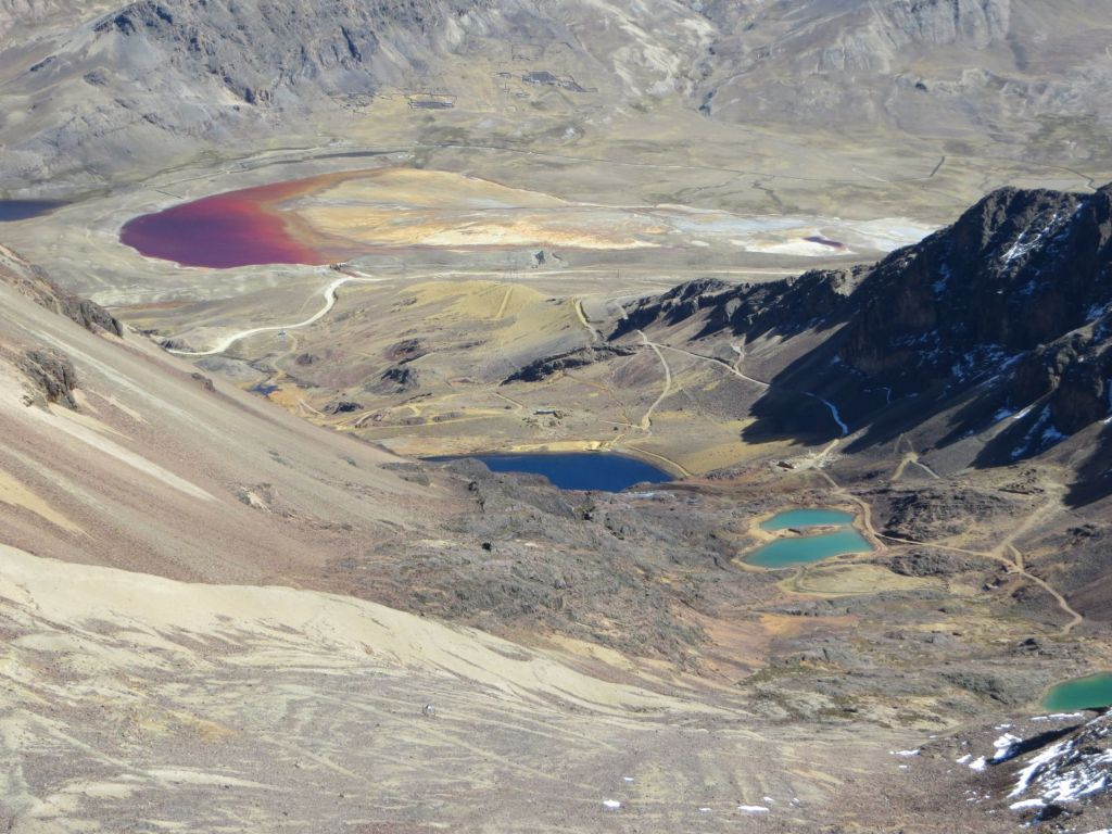 039-17 Chacaltaya und seine bunten Seen
