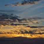 Sonnenaufgang in der Pampa