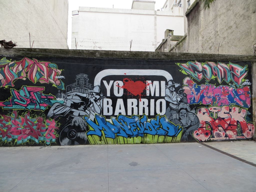 043-04 Montevideo - Sarandi, Wandmalerei