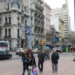 043-11 Montevideo - Straßenszene